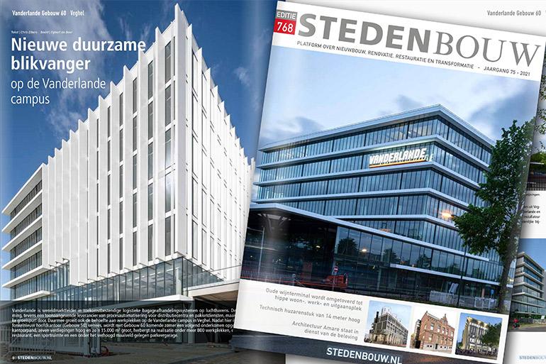 """Derako met """"Vanderlande"""" in Stedenbouw magazine"""