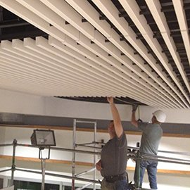 ceiling grill construction