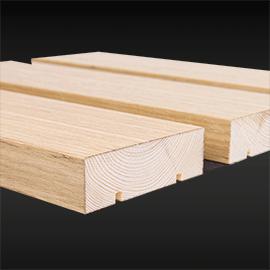 Celing linear Cloak Wood