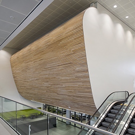 wall linear curved
