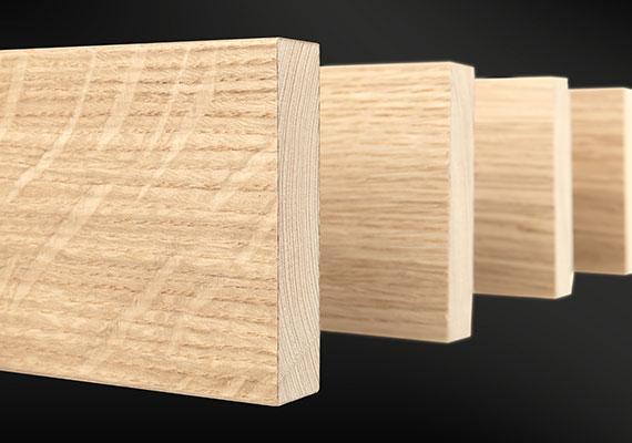 Derako Cloak Wood, Massief gefineerd hout